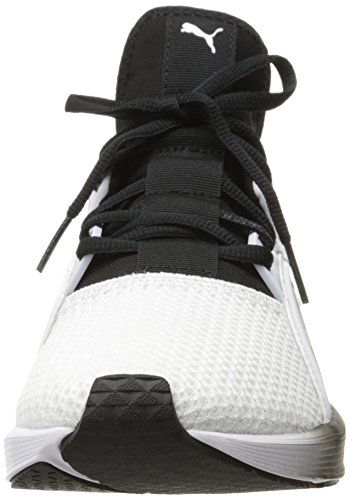 Puma Womens Fierce Lace Wns Cross-Trainer Shoe Puma White-puma Black