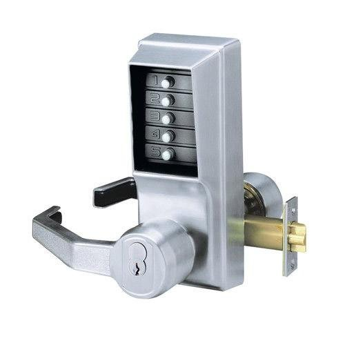 Simplex  Lever Mechanical Pushbutton Lock Key Bypass Prep For Medeco/ASSA/Yale/Ab  Access Control - Kaba LL1021M-26D-41