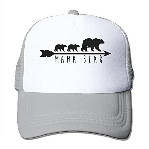 Li2u-id Mama Bear Adult Men Female Unisex Adjustable Trucker Hat Baseball Hats Mesh Hat]()