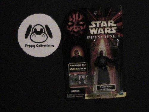 Star Wars DARTH MAUL (Sith Lord) Figure with CommTech Chip Episode - Commtech Figure Star Wars Chip
