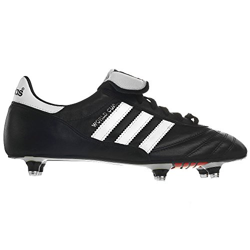 da Calcio black White Running Nero Unisex adidas Scarpe Cup World tqwScI6f