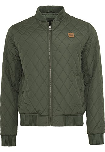 Giacca Classics Grün Urban Jacket Nylon Quilt olive 176 Uomo Diamond fFwWqHT6
