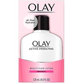 OLAY Active Hydrating Beauty Fluid Original 4 oz (Pack of 3)