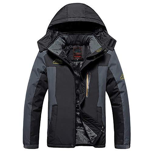 Hommes a poches Vest Black Au Imperméable Vent Pour Extérieure Polaire Multi Les vent Coupe D'extérieur OAqqHgn