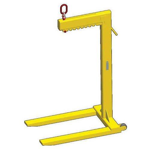 4000 Lb Capacity M/&W Wheeled Multiple Adjustment Bale Lift Pallet Lifter