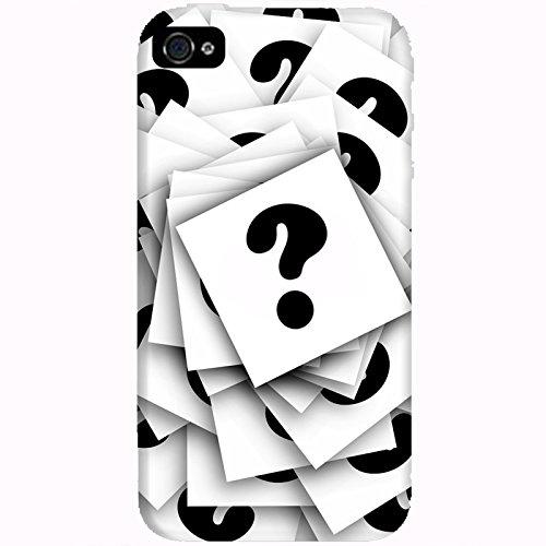 Coque Apple Iphone 4-4s - Interrogations