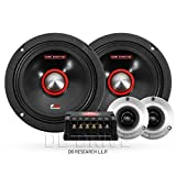 DB DRIVE 6.5' Midrange Stereo 250 Watts Car Audio Component Speaker System