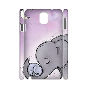 Elephants 3D-Printed ZLB612316 Unique Design 3D Cover Case for Samsung galaxy note 3 N9000