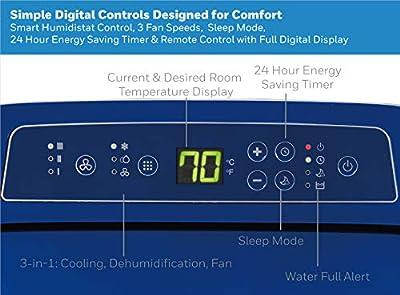 Honeywell HL Series Portable Air Conditioner, Dehumidifier & Fan