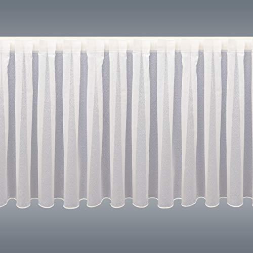 Caravan-Wohnmobil-Store Sophie mit Flauschband Klettband weißHöhe 60-80cm