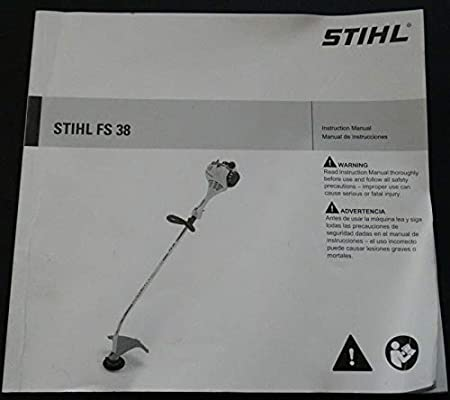 PRINTED 2014 STIHL FS 38 TRIMMER OWNERS MANUAL