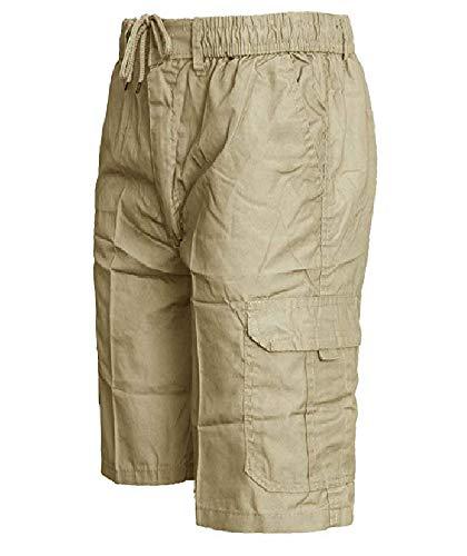 Wear À Taille short 5xl S Homme Pour Beige Cargo D'été Active Uni Style d18qwv1B