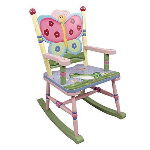 Magic Garden (Teamson W-7499A Fantasy Fields - Magic Garden Rocking Chair Rocking Chair,)