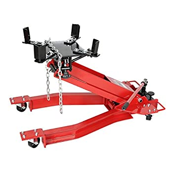 Goplus 2200LB Low Profile Transmission Hydraulic Jack Low Lift Stand for Auto Shop Repair