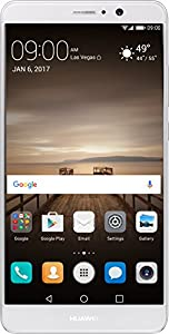 Huawei Mate 9 with Leica Dual Camera - 64GB Unlocked Phone - Moonlight Silver (US Warranty)
