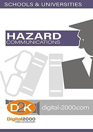Hazard Communications Custodial And Maintenance Safety