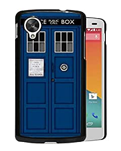 New Fashion Custom Designed Cover Case For Google Nexus 5 With Doctor Who Tardis Black Phone Case