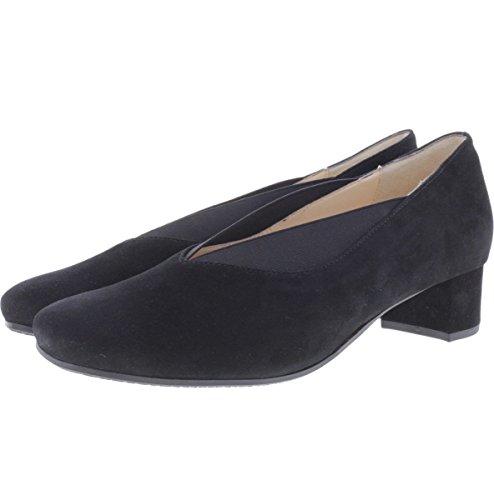 Hassia Shoe Fashion GmbH, Verona, scarpa, nera - nero, 37.5