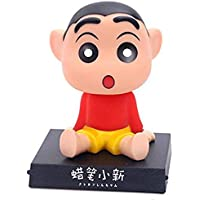 EITHEO Shinchan Shake Head Holder Bracket Bobble Head with Stand & Mobile Holder Car Dashboard Office Desk Table Top with Box