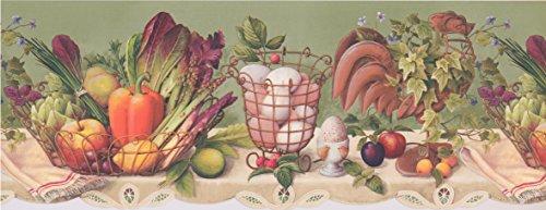 fruit border wallpaper - 6