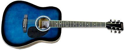 Muses ag303bls – Guitarra acústica Folk color azul degradado ...