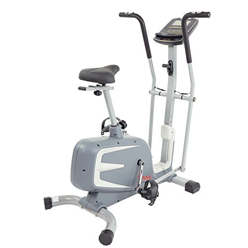 Sunny Health & Fitness Cross Training Magnetic Upright Bike by – SF-B2630 Cross Training Magnetic Upright Bike
