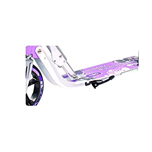 Hudora 180 (14746) Foldable kick scooter Height Adjustable Aluminum Scooters with big PU wheels