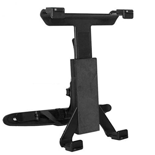 Car Headrest Mount Tablet Holder Rotating Cradle Back Seat Entertainment Dock Stand Black for Double Power T-708 - EFun Nextbook 7'' - EFun Nextbook 8'' by ATWATEC (Image #4)