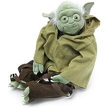 Game / Play Comic Images Yoda Buddies Backpack Plush. Bag, Plush, Fabric, Soft, Cuddly, Doll, Stuffed Toy / Child / Kid