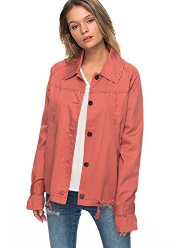 Roxy Womens Roxy Dream Away - Short Button-Up Jacket - Women - Xl - Pink Dusty Cedar (Roxy Lightweight Shorts)