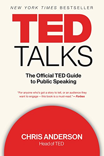 TED Talks: The Official TED Guide to Public Speaking cover