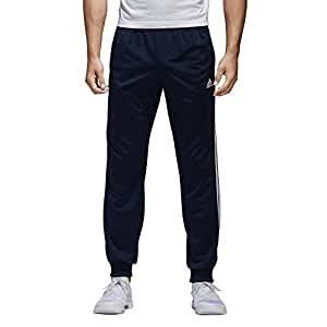 adidas mens Adidas men's athletics essential tricot 3 stripe tapered pant S1754MCL220-P , mens, Adidas men's athletics essential tricot 3 stripe tapered pant, S1754MCL220, Collegiate Navy/White, 3X-Large