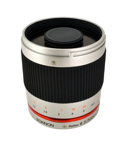 Rokinon 300M-FX-S 300mm F6.3 Mirror Lens for Fuji X Mirrorless Interchangeable Lens Cameras