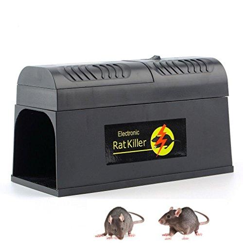 seicosy high voltage electronic shock electronic rat killer mouse rat rodent trap buy online. Black Bedroom Furniture Sets. Home Design Ideas