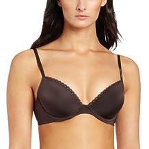 Calvin Klein Women's Seductive Comfort Customized Lift Bra with Lace Trim