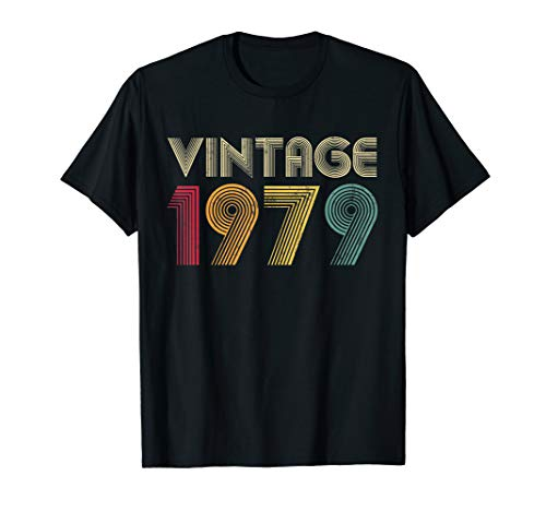 40th Birthday Gift Vintage 1979 Classic Men Women T-Shirt]()