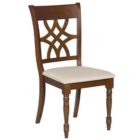 Varie Sedia in legno per cucina, sedie in tessuto classiche per ...