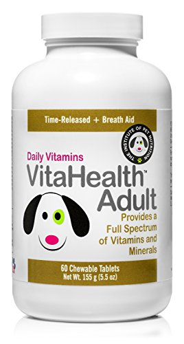 Picture of Adult Dog Vitamins Supplement (Chewable) Nutritional, Natural Multivitamin | Small, Medium, Large Breeds | Boost Immune System, Joint, Skin, Coat Health | Made in USA