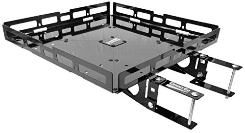 Mount-n-Lock GennyGo RV 4-Inch Bumper-Mounted Generator and Cargo Carrier Tray Kit (TM) (24' x 24', Steel)