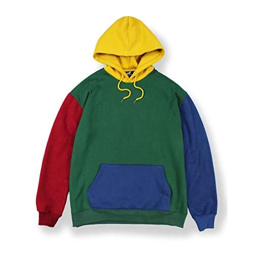 AGORA Color Block Hoodie Mens