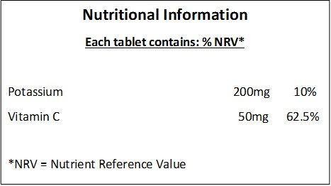 Potasio (Potassium) 200mg + Vitamina C 50mg - 180 Tabletas: Amazon.es: Salud y cuidado personal
