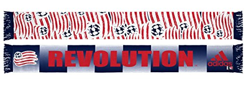 "New England Revolution Adidas MLS ""Repeating Emblem"" Polyester Team Scarf – DiZiSports Store"