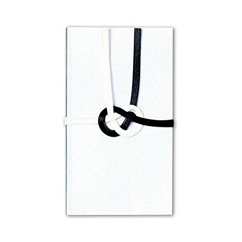 生活日用品 (まとめ買い) 黒白7本 ハスなし 越前和紙 キ2093 1セット(10枚) 【×4セット】 B074JZXKP3