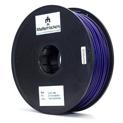MatterHackers PETG Blue High Strength Filament - 3.00mm (1.0kg)