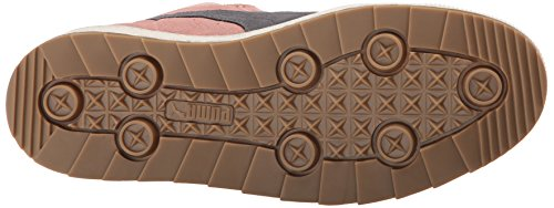 Puma en Ante la zapatilla de deporte de la manera Coral Cloud Pink/Steel Gray