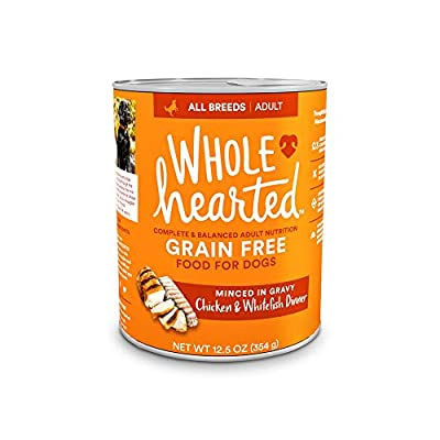 WholeHearted Grain-Free Adult Chicken and Whitefish Dinner Wet Dog Food