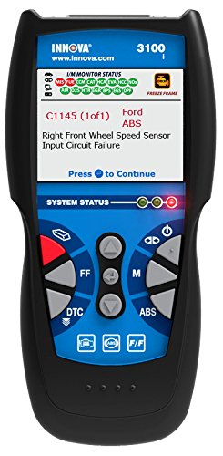 Innova 3100i Diagnostic Code Reader / Scan Tool with ABS for OBD2 Vehicles by Innova (Image #1)