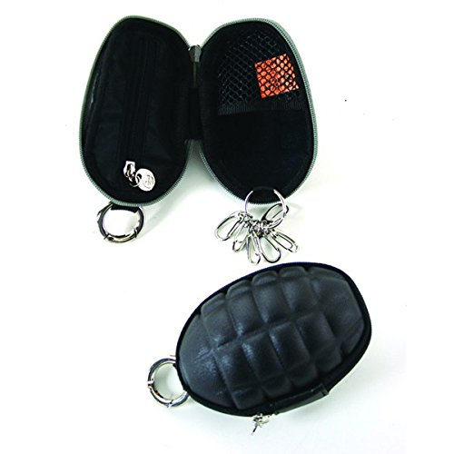 Grenade Coin Purse W/Key Ring -