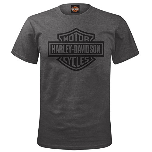 Harley-Davidson Men's Short-Sleeve Bar & Shield Pocket Tee - USAG Yongsan XL