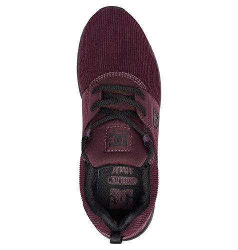 SE Heathrow TX Mujer Maroon Chambray DC Zapatos w4H7qRw